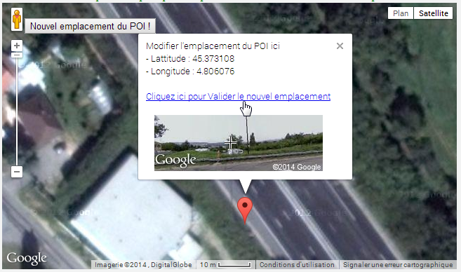 Photo de l'emplacement